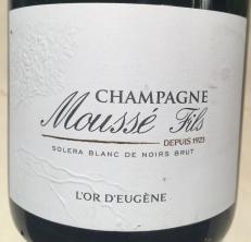 2018-02-10 Mousse Fils L'or D'eugene, solera blanc de noirs, brut