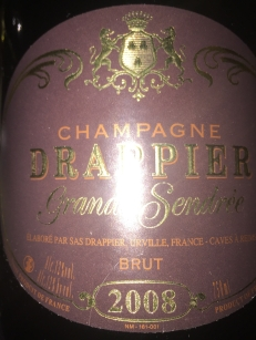 Drappier - Grand Sendree Brut 2008 - 2018-04-14